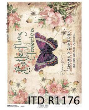 Ριζόχαρτο Α4 40gr Πεταλούδες R1176