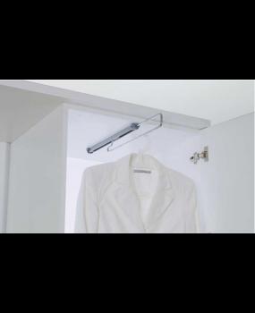 Κρεμάστρα ρούχων οροφής ντουλάπας  STARAX  S 6061