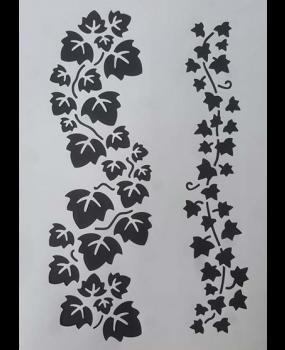 Stencil κισσός