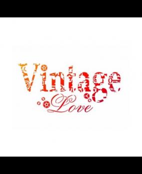 Stencil VINTAGE LOVE