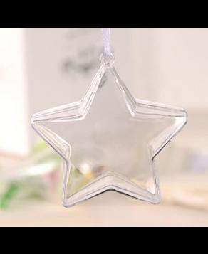 Κρεμαστό Αστέρι Plexiglass 10εκ.
