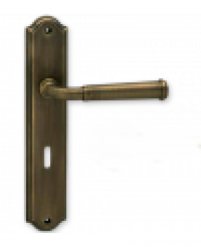 Χερούλι πόρτας πλάκα αντικέ  06.920 viometal