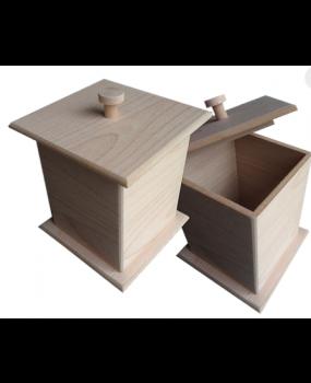 Ξύλινο Κουτί για μπισκότα