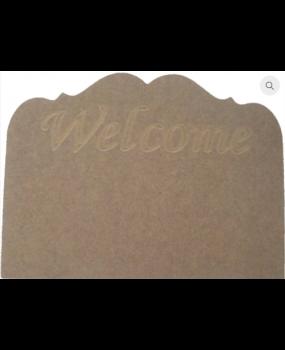 """Πλακέτα """"Welcome"""""""