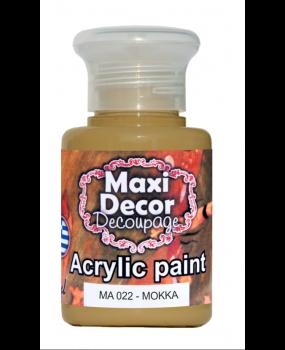 Ακρυλικό χρώμα για decoupage σε 60 & 130ml ma 022 Μόκκα