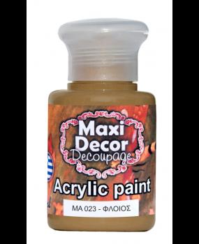 Ακρυλικό χρώμα για decoupage σε 60 & 130ml ma 23 Φλοιός