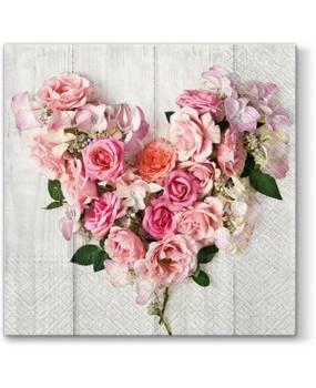 Καρδιά από τριαντάφυλλα