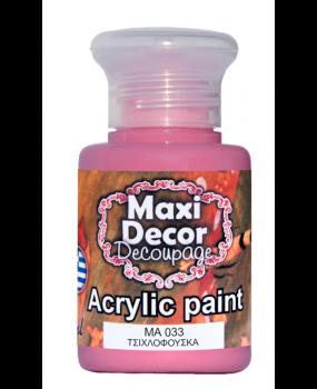 Ακρυλικό χρώμα για decoupage σε 60 & 130ml ma 033 Τσιχλόφουσκα
