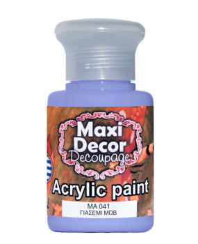 Ακρυλικό χρώμα για decoupage σε 60 & 130ml ma 041 Γιασεμί μώβ