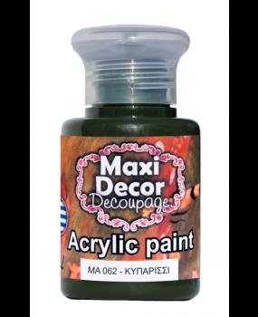 Ακρυλικό χρώμα για decoupage σε 60 & 130ml  ma 062 Κυπαρισσί