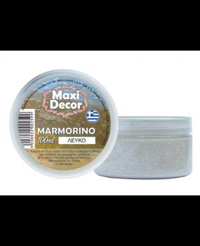 μαρμορίνο Λευκό δίνει την αίσθηση  του μαρμάρου 100ml