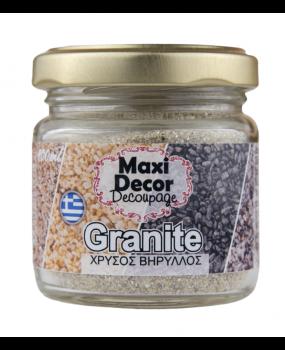 ειδικά εφέ Granites Χρυσός Βήρυλλος για decoupage 100ml