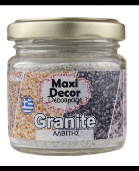 Ειδικά Εφέ ''Granites σε κόκκους αλβιτης'' για decoupage 100ml