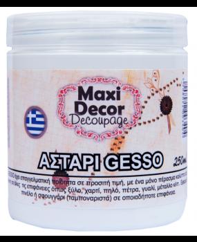Aστάρι gesso για decoupages σε 100 - 250 & 750ml