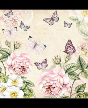 Λουλούδια - πεταλούδες