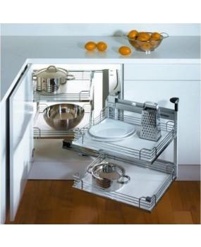 Μagic corner κουζίνας ολικής εξαγωγής 400 & 450cm. S 3005